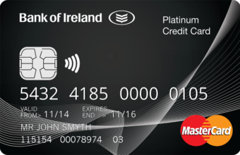 Features Benefits Platinum Credit Card Bank Of Ireland