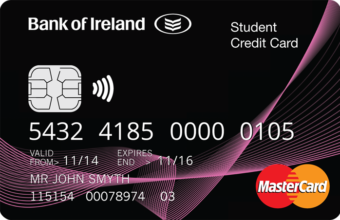 Image referring to  Student Credit Card