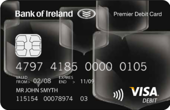Thumbnail of Premier Black Visa Debit Card