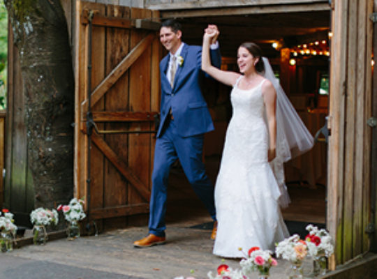 For an Alternative Venue, Sara's Dance Hall Wedding Takes Some Beating