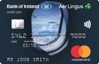 Image of Love travel? Love Aer Credit Card