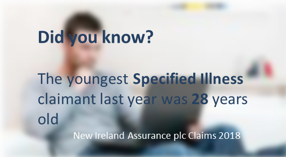 Did you know The youngest Specified Illness claimant last year was 28 years old