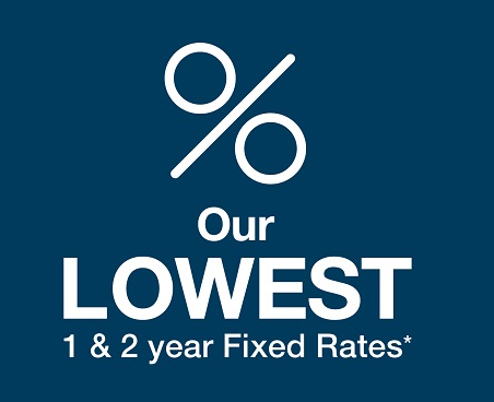 Lowest 1 and 2 Year Fixed Rate Mortgages